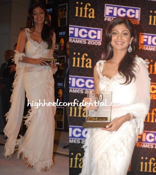 shilpa-shetty-ficci-frames-event-white-sari.jpg