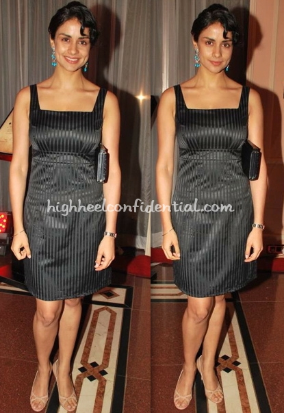 gul-panag-chivas-dinner-black-dress