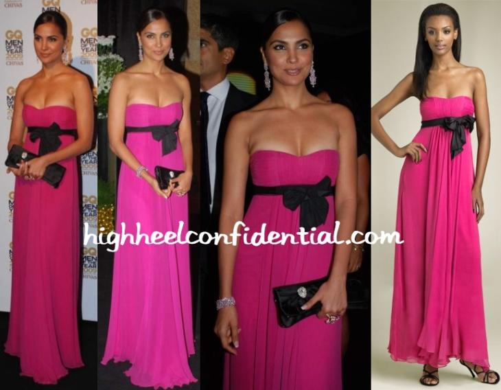 lara-dutta-gq-men-awards-bcbg-pink-dress1