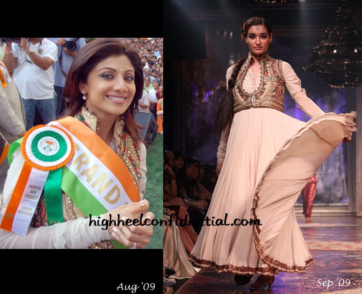 shilpa-shetty-tarun-tahiliani-india-day-parade