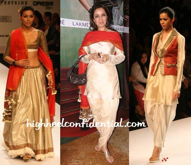 tisca-chopra-lakme-fashion-week-nikasha-tawadey