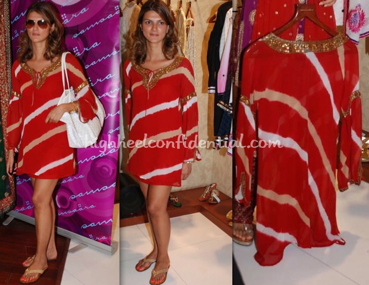 nandita-mahtani-samsaara-red-dress