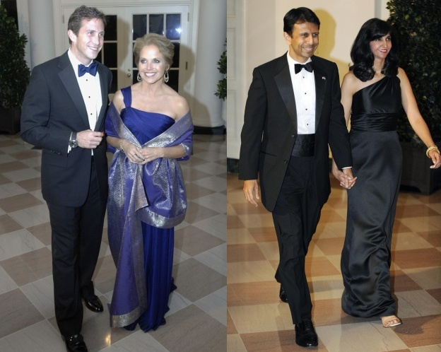 katie-couric-bobby-jindal-state-dinner