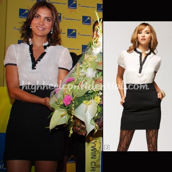 lara-dutta-playwin-event-bebe-dress