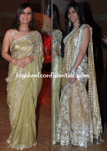 Shilpa Shetty Wedding Reception Nishka Lulla Neeta Lulla