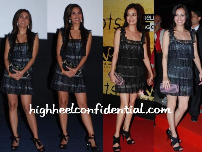 lara-dutta-dia-mirza-3-idiots-premiere-same-dress