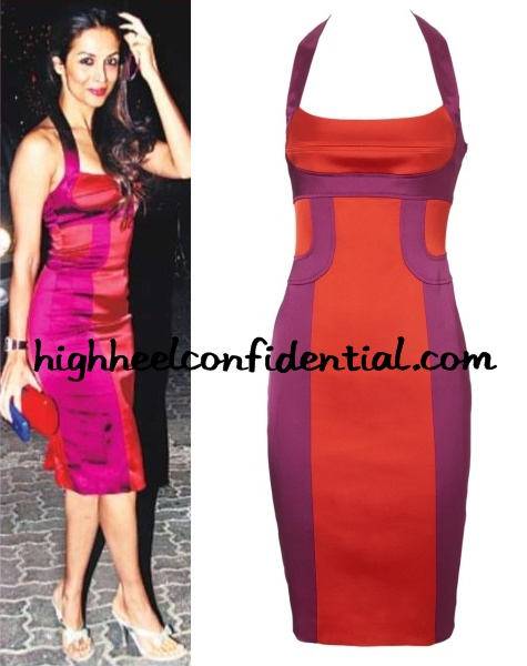 Fashion 2017 dresses - Malaika Arora Karen Millen Red Dress