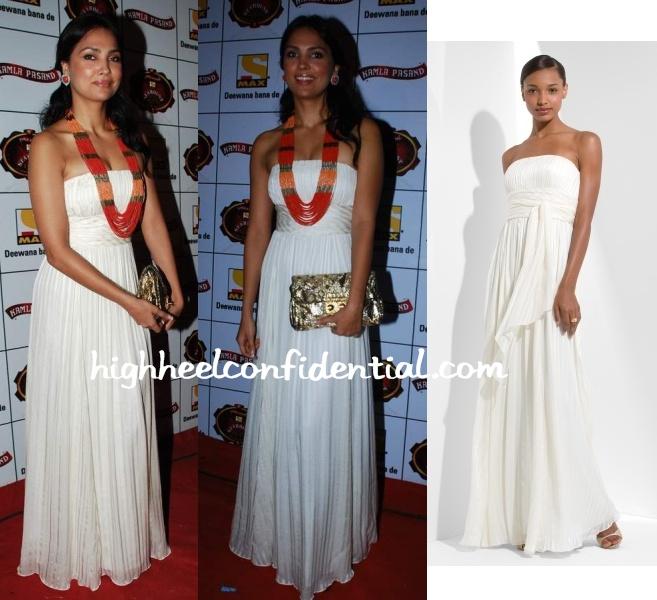 lara-dutta-stardust-awards-2010-bcbg-white-gown