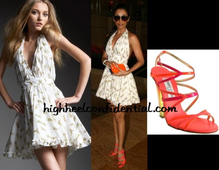 malaika-arora-dolce-gabbana-knot-print-dress