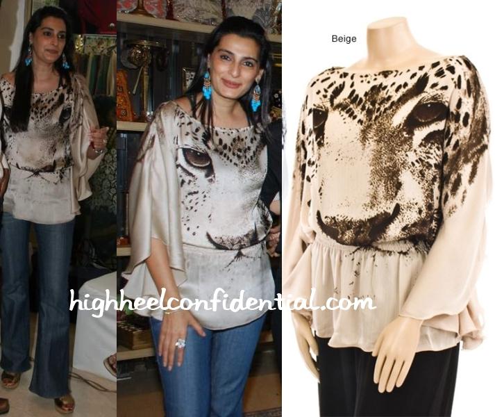 mana-shetty-araaish-event-tiger-blouse
