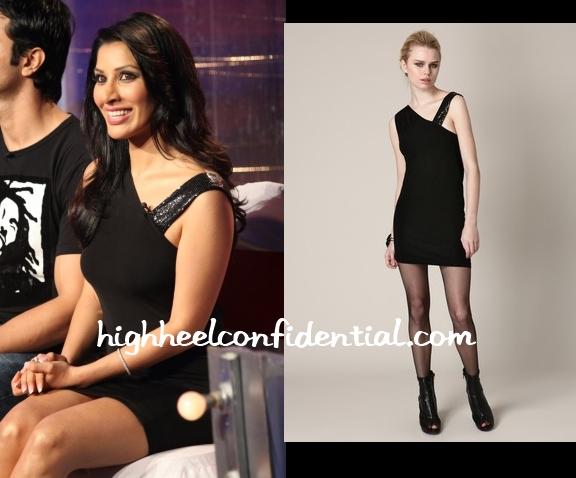 sophie-chaudhary-alice-olivia-black-dress