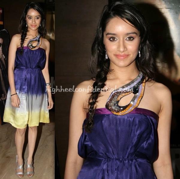 teen-patti-screening-shradha-kapoor-surily-goel-dress