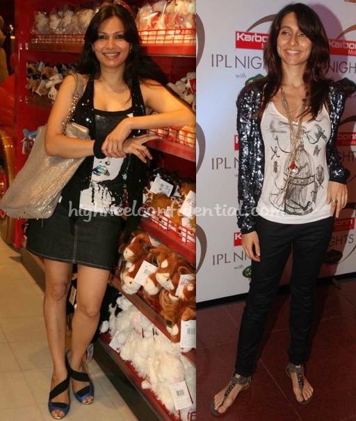 anusha-dandekar-ipl-nights-maria-goretti-hamleys-store-launch