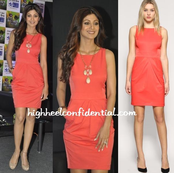 shilpa-shetty-coral-reiss-dress-zara-nachke-dikha