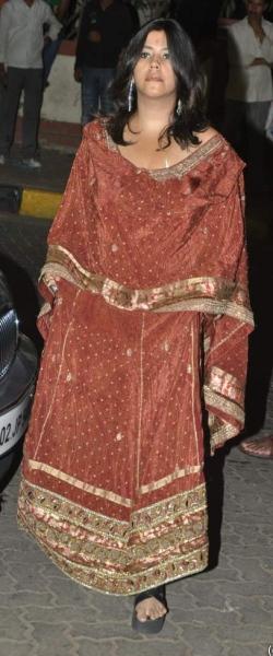 ekta-kapoor-mushtaq-sheikh-reception