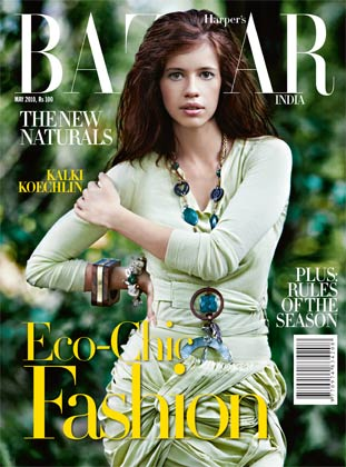 kalki koechlin-harpers bazaar india-may 2010