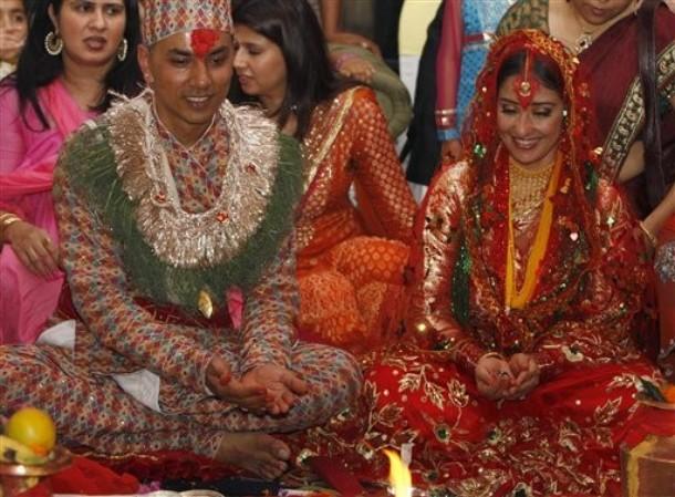 Nepal Actress Weds