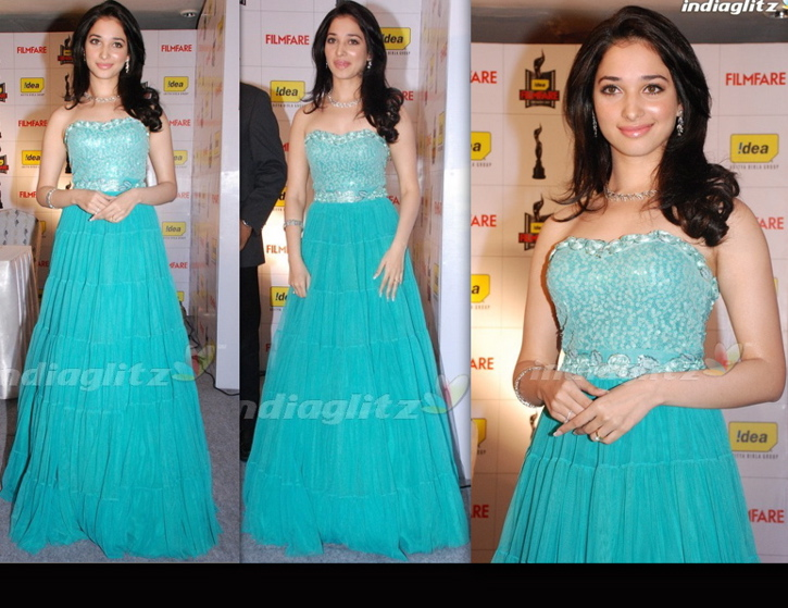 Tamannah-Nishka Lulla-57th Filmfare Awards Press Meet