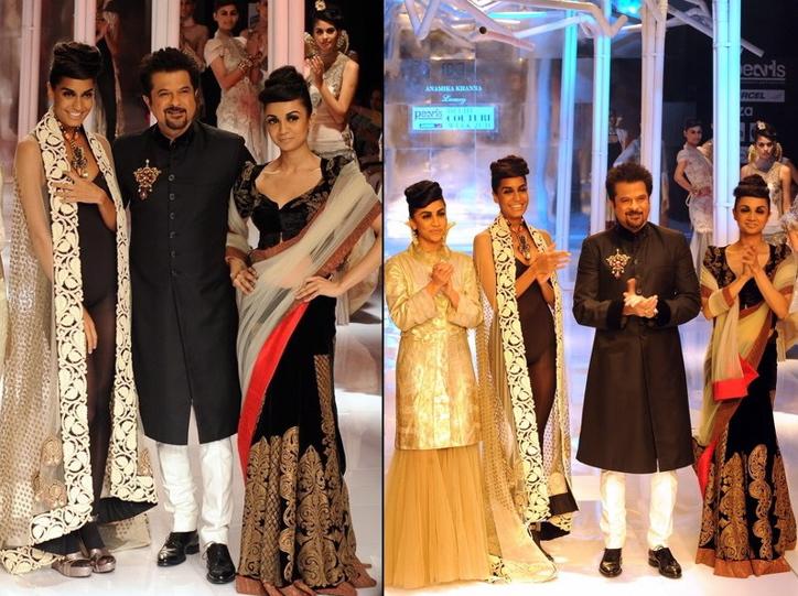 anamika khanna-pearls delhi couture week-anil kapoor-aisha cast
