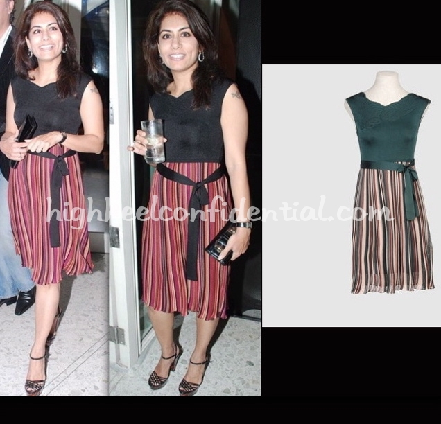 deepika-gehani-swiss-air-calendar-launch-m-missoni-dress