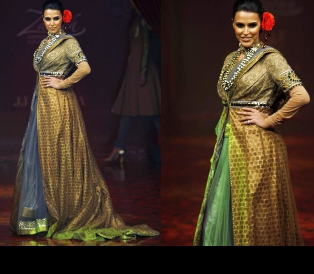 neha-dhupia-bangalore-fashion-week-valaya