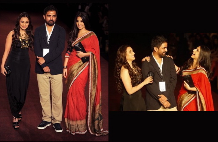 rani mukherjee-vidya balan-sabyasachi-pearls delhi couture fashion week