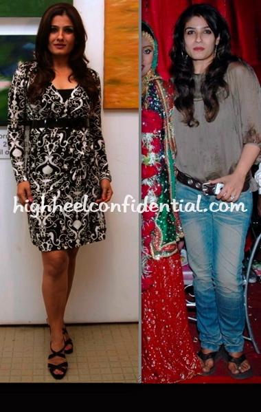 raveena-tandon-shabina-khan-wedding-nawaz-modi-exhibition