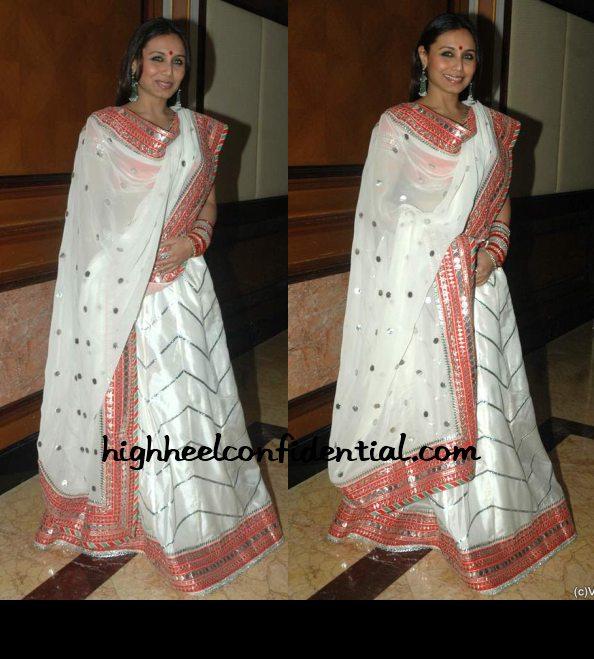 Rani Mukherjee Wedding: High Heel Confidential