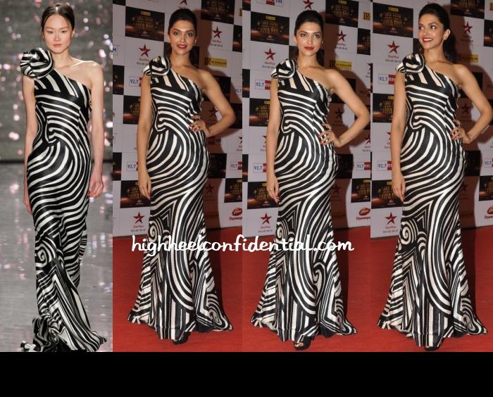 deepika-padukone-naeem-khan-big-star-entertainment-awards-2012