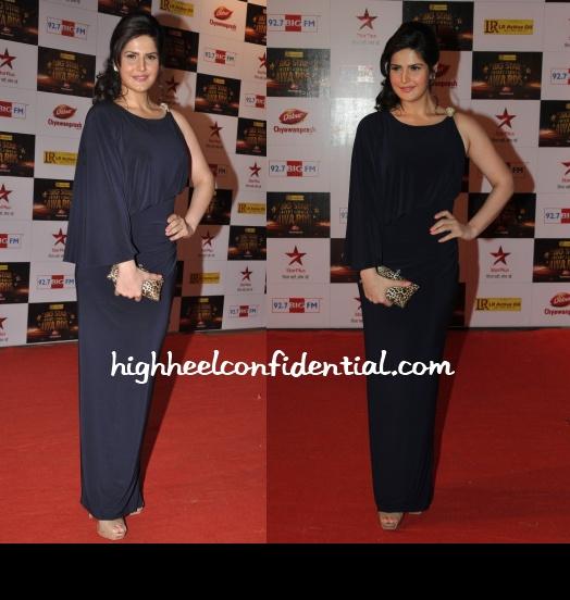 zareen-khan-pria-kataria-puri-big-star-entertainment-awards-2012