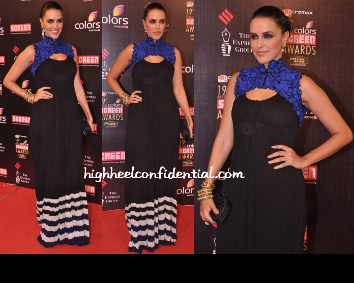 neha-dhupia-nupur-kanoi-screen-awards-2013