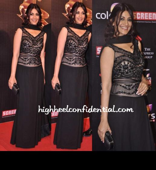 sonali-bendre-shahab-durazi-screen-awards-2013-1