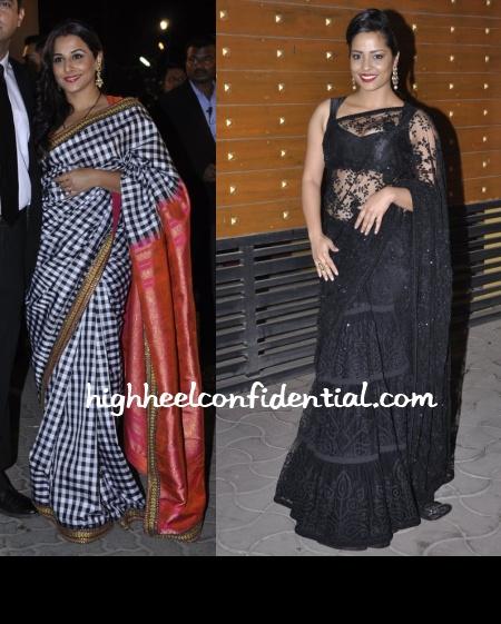 vidya-balan-shahana-goswami-sabyasachi-filmfare-awards-2013