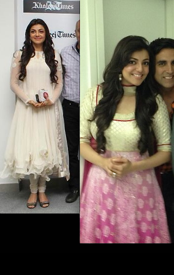 kajal aggarwal in varun bahl and sonam m at special 26 promotions in dubai
