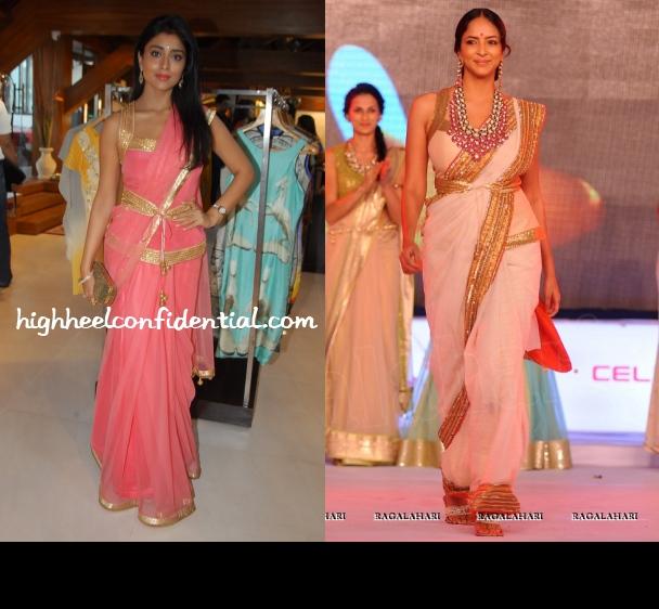 shriya-saran-lakshmi-manchu-shilpa-reddy-sari