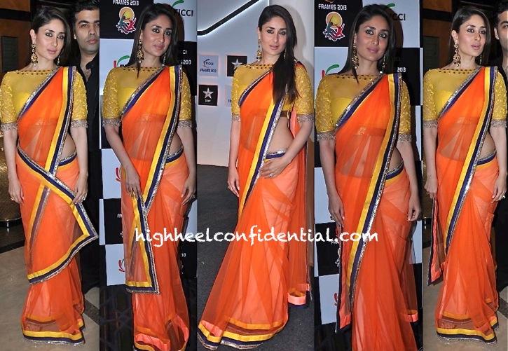 Kareena Kapoor At FICCI Frames Event In Manish Malhotra