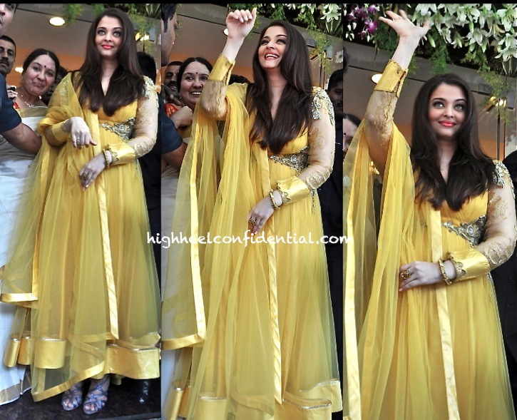 aishwarya rai bachchan in gaurav gupta at kalyan jewellers thane store launch-1