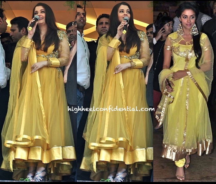aishwarya rai bachchan in gaurav gupta at kalyan jewellers thane store launch-2