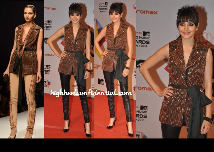 anushka-sharma-anaikka-mtv-video-music-awards-2013