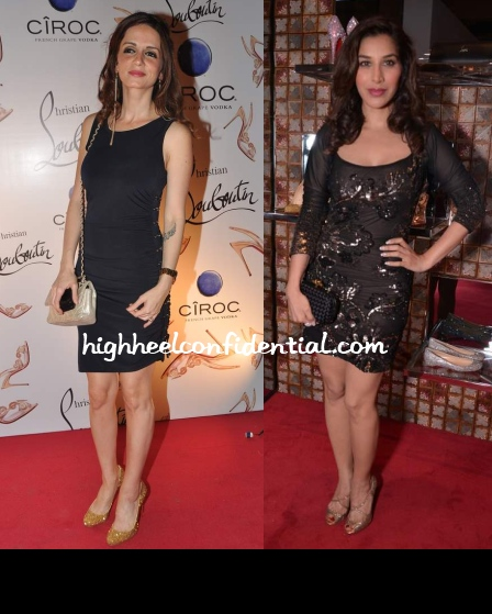 sussanne-roshan-sophie-choudry-louboutin-store-launch