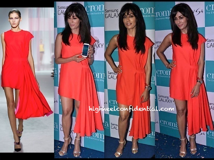 Chitrangada Singh In Dior At Samsung S4 Launch