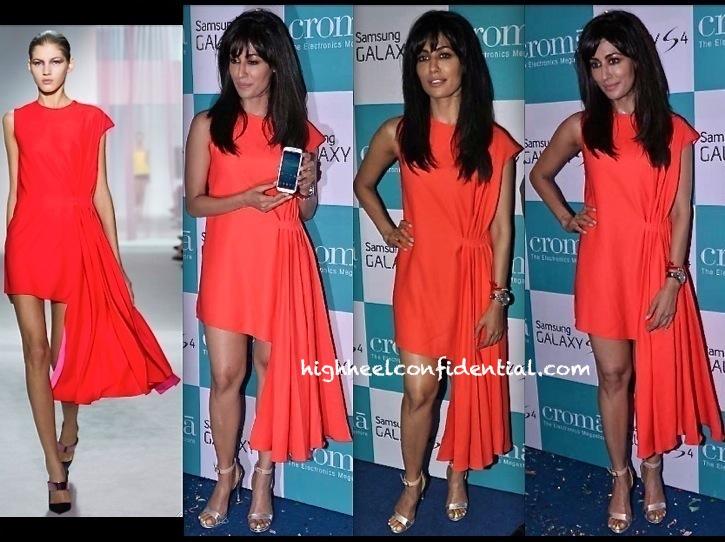 Chitrangada Singh In Dior At Samsung S4 Launch