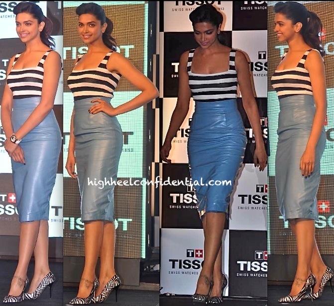 Deepika Padukone At Tissot Event