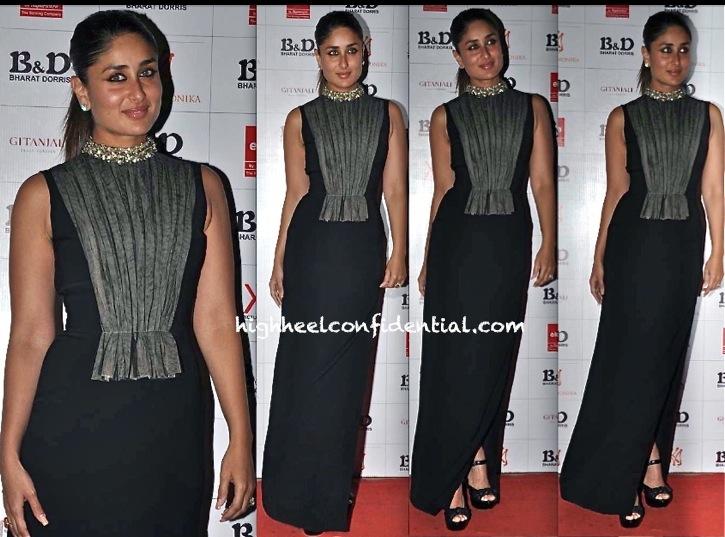 Kareena Kapoor In Atsu At Bharat and Dorris Make-Up Awards
