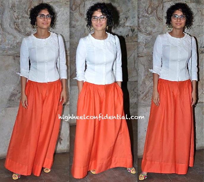 Kiran Rao At Qayamat Se Qayamat Tak Screening