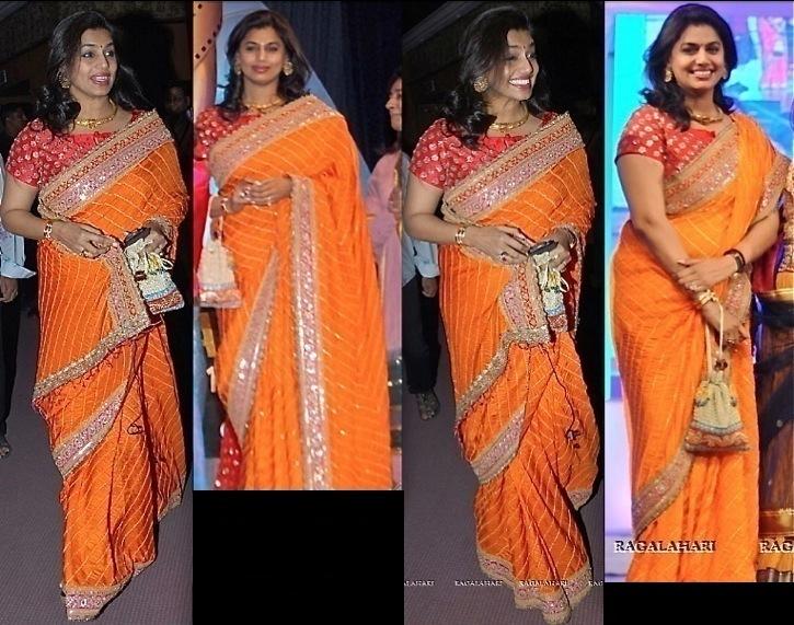 Pinky Reddy In Anuradha Vakil At TV9 TSR Awards 2013