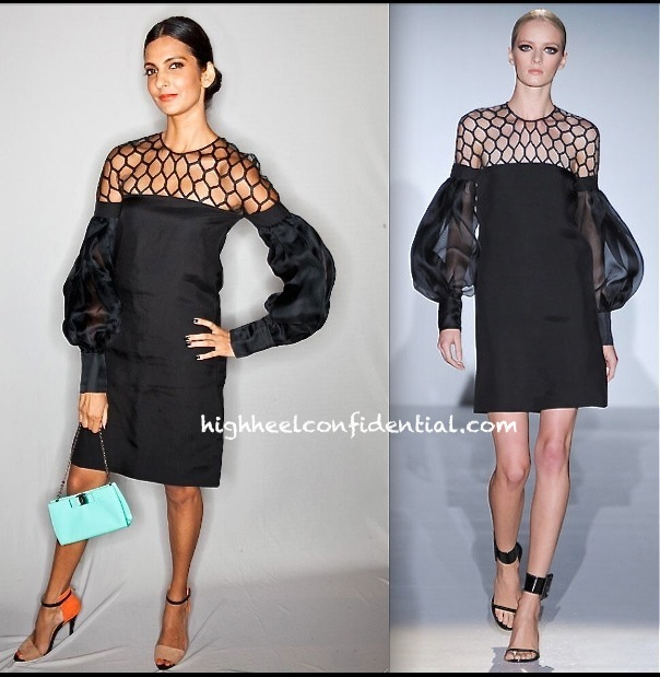 Poorna Jagannathan In Gucci At Grazia Young Fashion Awards 2013