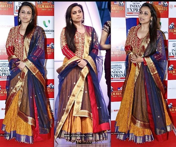 Rani Mukherjee At TV9 TSR Awards 2013