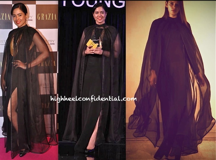 Sameera Reddy In DRVV At Grazia Young Fashion Awards