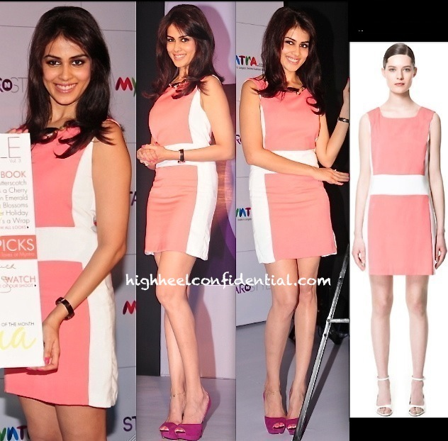 genelia dsouza in zara at myntra star n style event